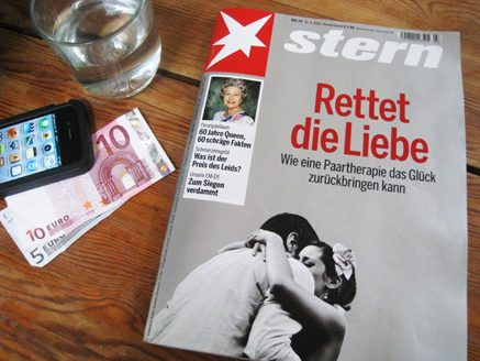 Stern Euros and and iphone