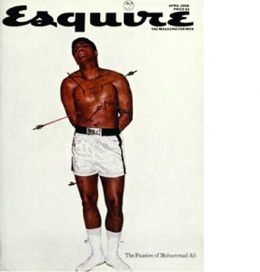 George Lois Ali cover for Esquire