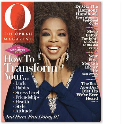 oprah magazine transformation issue