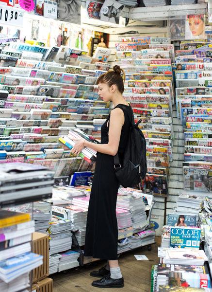 magazine shop