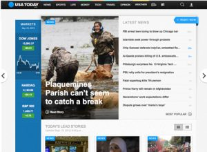 usa today redesigns its website