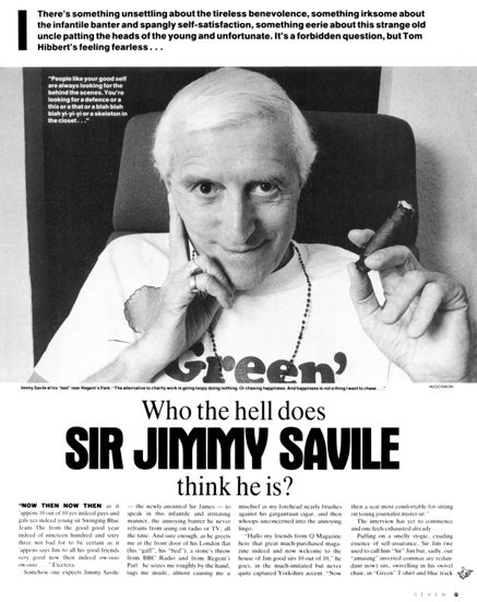 Q magazine jimmy saville