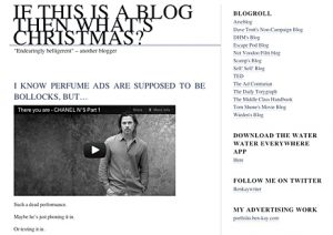 If this is a blog, what's christmas?