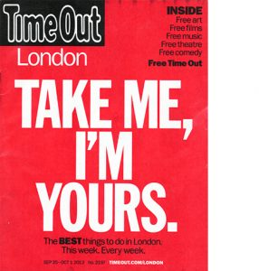 time out magazine cover