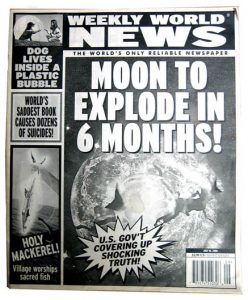 moon to explode in 6 months