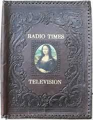 radio times leather binder