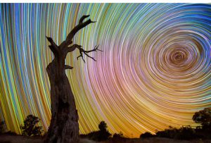 australian long exposure star trail shots